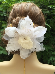 Blancheur d'orchidée